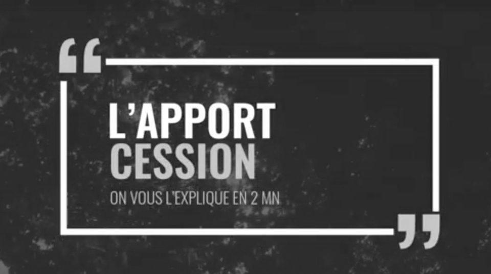 Apport Cession - Ciméa Patrimoine